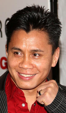 Cung Le at the New York premiere of &quot;Fighting.&quot;